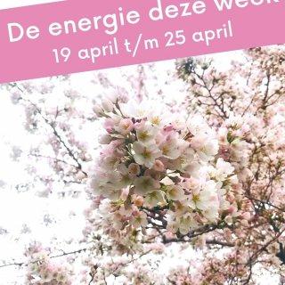 De energie deze week spat eruit!  De temperatuur loopt op, en daardoor heb je de lente mega in je bol! Je hebt overal zin in, je geniet met volle teugen van de heerlijke zon op je toet. Je batterij laadt helemaal op, omdat jij doet waar jij zin in hebt deze week. Geniet ervan! ☀️